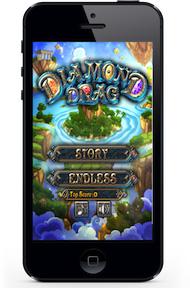 瑞艾 遊戲開發 Diamond Drag APP