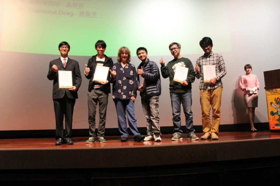 2012年瑞艾開發遊戲獲TIDCA評審推薦獎